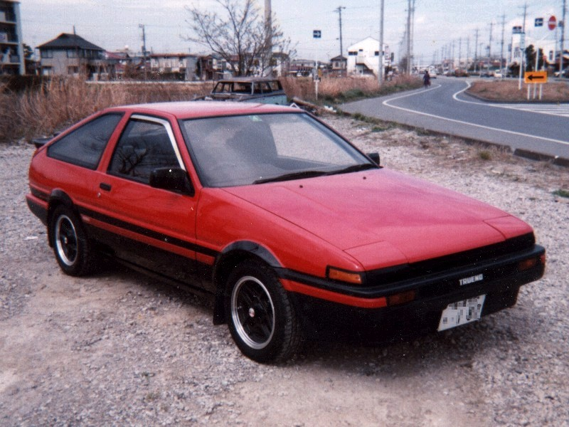 前期AE86